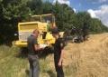 19 липня рятувальники Фастівського району провели рейд місцями збору урожаю.