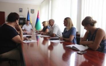 23 липня проведено оперативну нараду з керівниками структурних підрозділів адміністрації, установ та організацій району.
