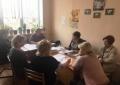18 лютого проведено комісію з питань призначення державних соціальних допомог, надання пільг, житлових субсидій та соціальних виплат внутрішньо переміщеним особам.